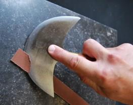 Utilisation Couteau à pied 1