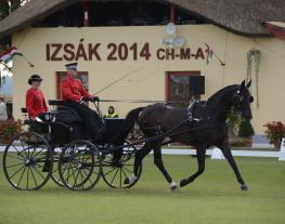 Renaud Vinck au championnat du monde Hongrie 2014