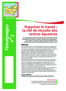 Organiser le travail : la clé de réussite des centres équestres