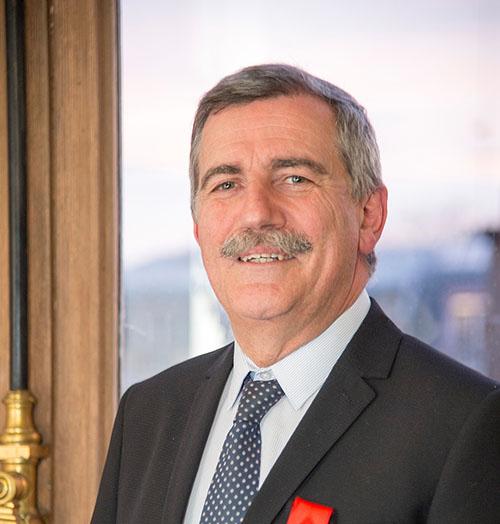 Jean-Roch Gaillet, directeur général de l'Ifce