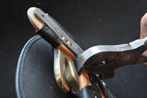 Utilisation Pince à tendre à marteau