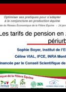 Les tarifs de pension en zone périurbaine