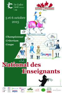ENE - National Enseignants 2015 Affiche bd