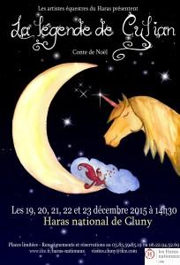 CLU Affiche conte de Noël