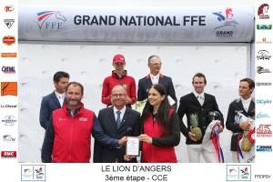 podium GN Le Lion