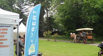 Haras national de Besançon une journée «Jardins d'enfants »