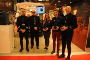 trophees du sport avec Héloïse Le Guern, Alexis Goury et Philippe Mull