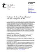 Un écuyer du Cadre Noir de Saumur  aux Jeux olympiques de Rio
