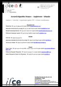 Annexe 2 - Liste des organismes agréés