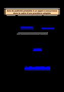 Etude et développement d'une solution informatique 02/07/2015