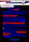Information étalonnier SF - part variable 2017