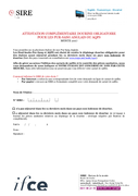 Attestation Dourine pour étalon PS et AQPS