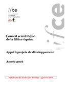 Appel à projets de développement - année 2016