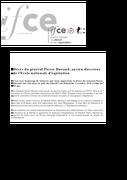 Décès du général Pierre Durand, ancien directeur de l'École nationale d