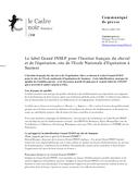 Le label Grand INSEP pour l