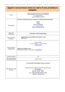 ESCE (61) - Fourniture de fuel domestique 06/11/2015