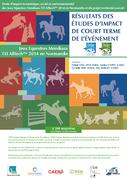 Impacts de court terme des Jeux Equestres Mondiaux FEI Alltech™ 2014 en Normandie