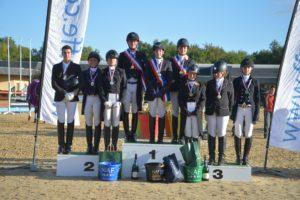 podiums dressage web ©Les Garennes