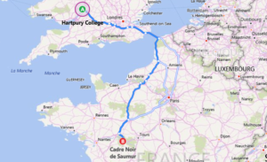 FOR- route Hartpury