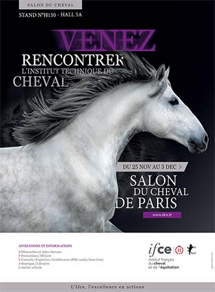L institut au salon du cheval de paris 2017 l institut for Salon du chien 2017 paris