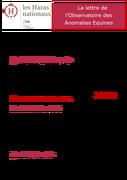 Observatoire des anomalies génétiques - lettre 3