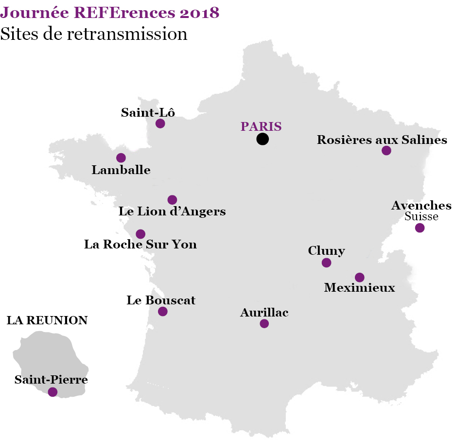 DIF Carte retransmission JREFE 2018