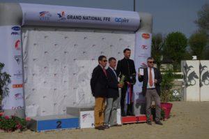 Matthieu Van Landeghem podium GN Pompadour web©Mathilde Dhollande