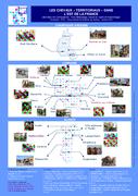 Carte des chevaux territoriaux en Alsace et Lorraine