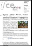 Concours complet : dernières sélections « Jeunes » à Saumur