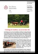 CP 16072015 Attelage de tradition un savoir faire ifce