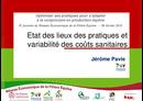 Etat des lieux des pratiques et variabilité des coûts sanitaires