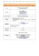 Fourniture de produits d'entretien 31/03/2015