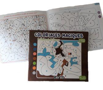 Cahier de coloriage présentation