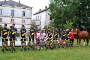 coureurs cyclistes équipe Direct énergie