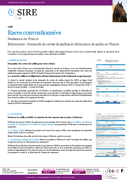 Info étalonnier - races conventionnées