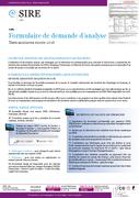 Notice formulaire de demande d