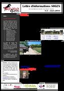 SoGen : lettre info N°2