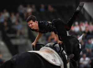 FEI World Equestrian Games™ Tryon USA Lambert Leclezio of France on Poivre Vert Photo FEI/Martin Dokoupil