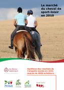 Le marché du cheval de sport-loisir en 2010