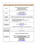 SIRE - Fourniture de pochettes en PVC Opaque et Couvertures cristal 13/09/2018