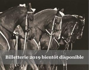 BIlletterie 2019