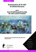 Dossier de presse : restauration de la fresque du Grand manège