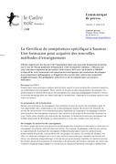 Le Certificat de compétences spécifique à Saumur : une formation pour acquérir des nouvelles méthodes d'enseignement