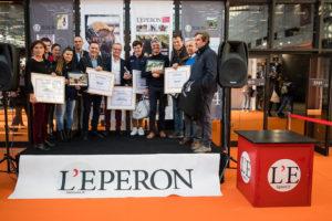 Photographie Eric KNOLL. LONGINES Masters de Paris 2018. Trophées L'Eperon l'homme de l'année Tous les laureats
