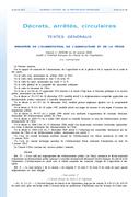 Décret Institut français cheval et équitation