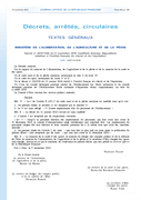Décret modificatif Institut français du cheval et de l