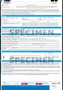 Certificat de saillie Trait web