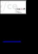 Le rapport d'activité 2017 est disponible