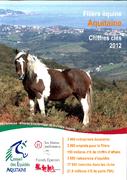 Filière équine Aquitaine : chiffres clés 2012