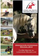 Observatoire Economique Régional 2010 : filière équine en Languedoc-Roussillon